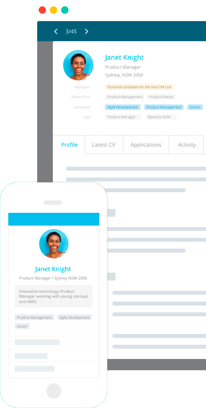 LiveHire Profile
